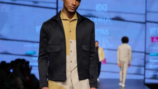 Dhruv Vaish's Autumn/Winter '19 collection for men