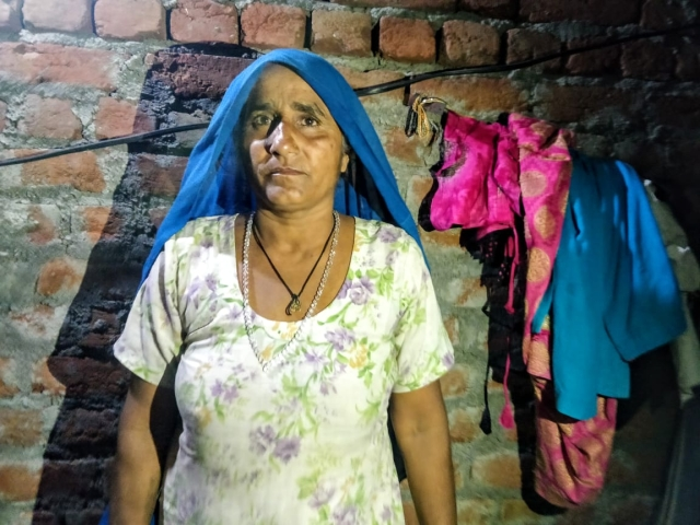 "Mahesh Kumar's mother, Om Pali, is both angry and concerned about her son. ""When will I see him again, do you know? Will they beat him up in the jail?"" she asks."