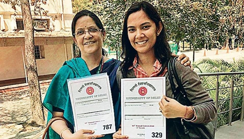 Mom-Daughter Duo Gets PhD Degrees On the Same Day