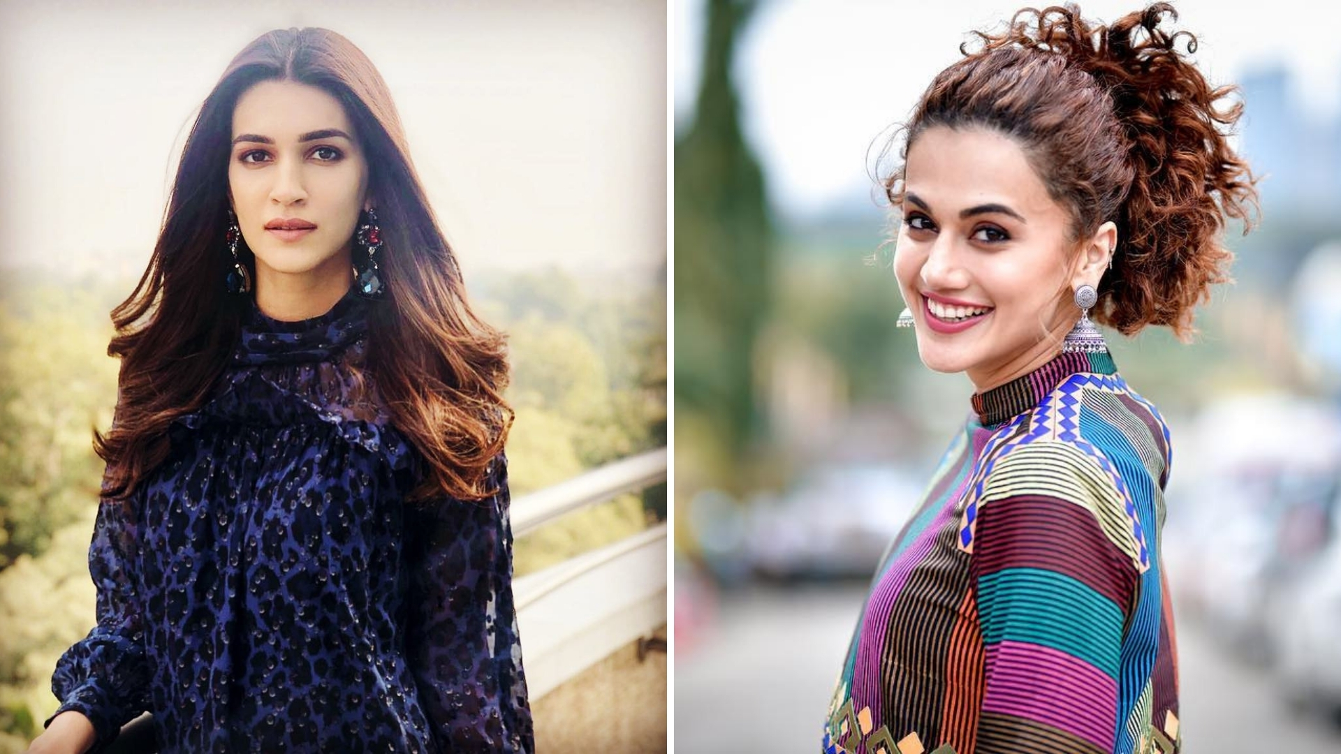 Taapsee, Kriti Sanon Slam Twitter Account for Not Crediting Them