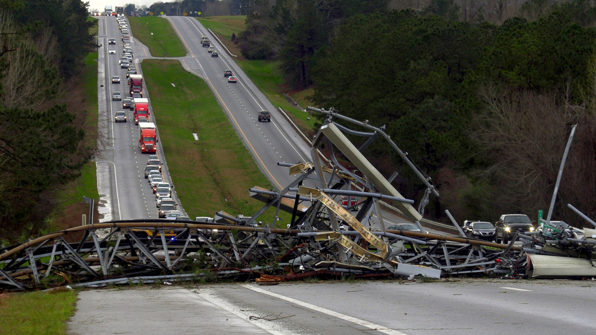 14 Dead, Many Injured After Tornado Hits Alabama, US