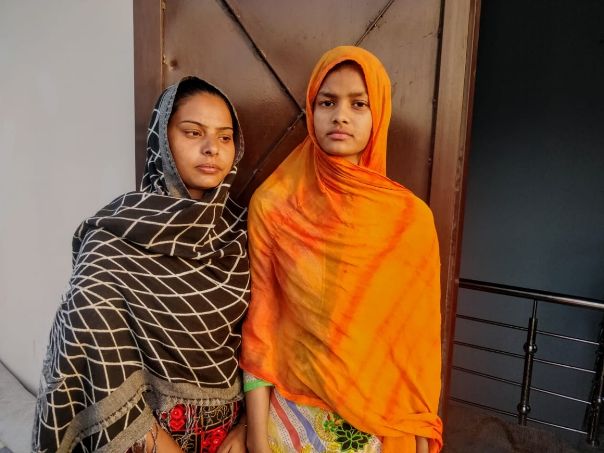 Shaista (left) and Muskaan(right) were among those who wanted Daanishtha to keep shooting.