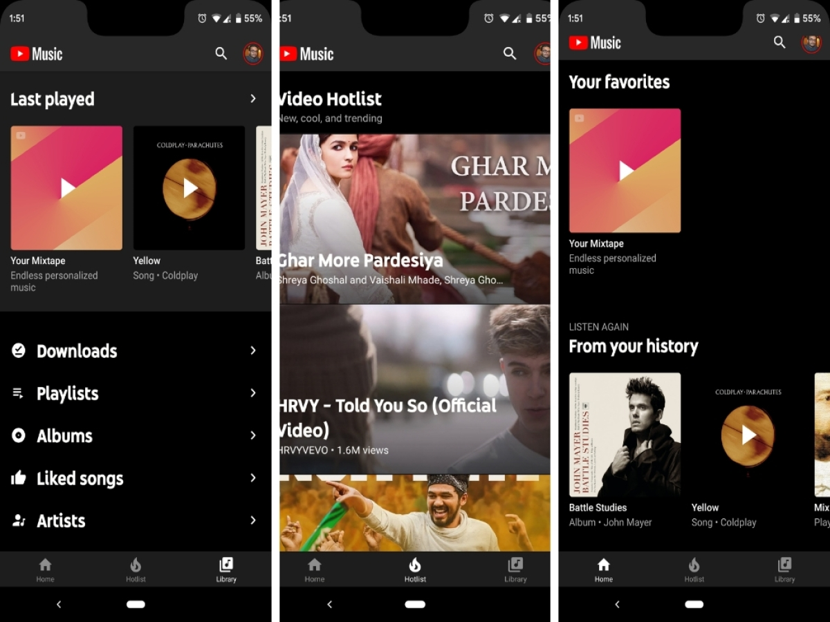 Spotify vs YouTube Music App Streaming India: Prices