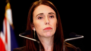 New Zealand Prime Minister Jacinda Ardern addresses a press conference in Wellington, New Zealand Monday, 25 March, 2019.