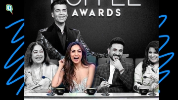Malaika Arora on the sets of Koffee With Karan Awards