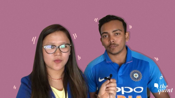 Indian cricketer Prithvi Shaw spoke to The Quint on the sidelines of the launch of the Indian jersey for the 2019 World Cup this summer.