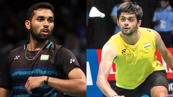Shuttlers HS Prannoy (left) and B Sai Praneeth blamed administrative goof-ups for preventing them from participation at the Asia Badminton Championship.