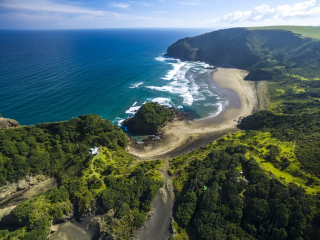 Most places in New Zealand are uncrowded and the pace of life is leisurely.