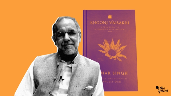 Punjabi poet and Sahitya Akademi winner Nanak Suri wrote <i>Khooni Vaisakhi</i>, a ballad recounting the Jallianwala Bagh massacre, which has been translated by his grandson, Navdeep Suri.