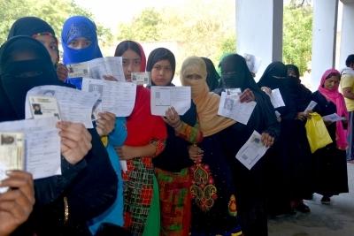 BSP alleges fake voting by burqa clad women