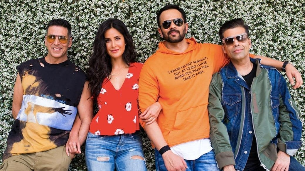 Katrina Kaif Teams up With Akshay After 9 Years for 'Sooryavanshi'