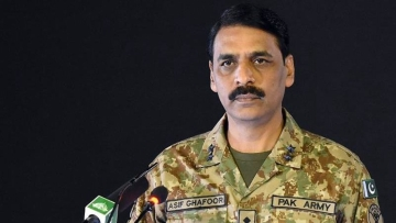 File image of Director General of Inter-Services Public Relations (ISPR) Maj Gen Asif Ghafoor.