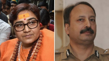 """I had told him, that you will be destroyed,"" Pragya Thakur said."