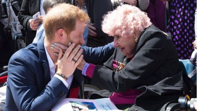 Prince Harry's 99-Year-Old 'Biggest Fan' Passes Away In Australia