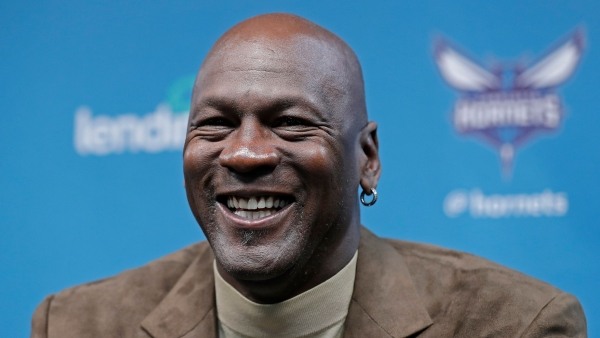 File photo of Michael Jordan.