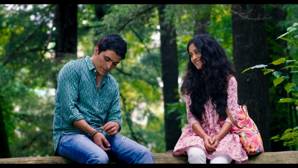 Manav Kaul and Amrita Bagchi in a still from <i>Music Teacher</i>.