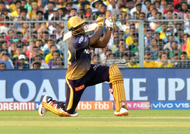 Andre Russell holds the record for the most consecutive boundaries (fours or sixes) hit by a batsman this IPL season.