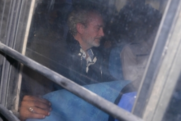 New Delhi: British national Christian Michel James, the middleman wanted in the Rs 3,600 crore AgustaWestland VVIP chopper deal case, who has been remanded to five days CBI custody by a Delhi court on Dec 5, 2018. he was extradited to India on Tuesday night from the United Arab Emirates (UAE). A CBI team escorted him to India in a special plane. (Photo: IANS)