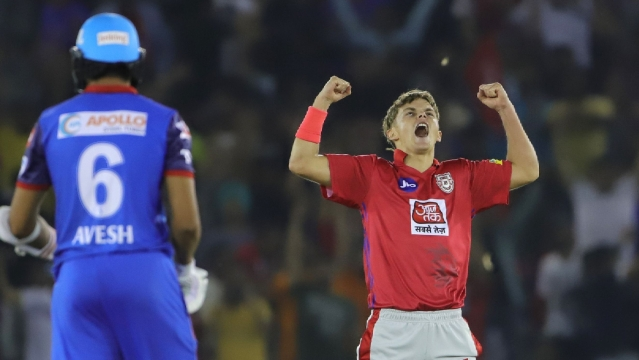Curran became the youngest bowler IPL history to take a hat-trick at 20 years and 302 days.
