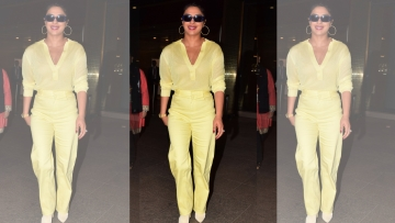 Priyanka Chopra spotted at Mumbai airport.