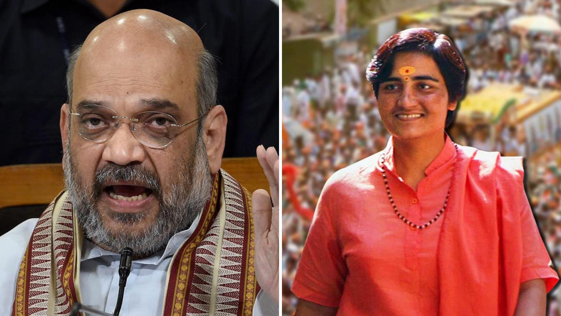 A Hindu Can Never Be A 'Terrorist': Amit Shah Backs Pragya Thakur