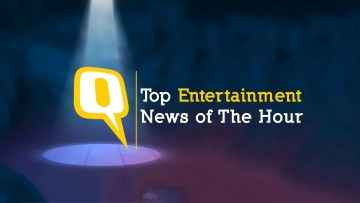 Catch the day's top entertainment news here.