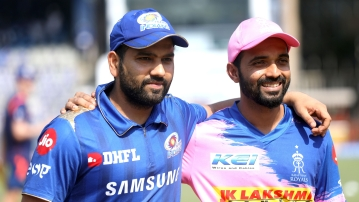 Rajasthan Royals captain Ajinkya Rahane won the toss and decided to bowl first in their Indian Premier League (IPL) match against Mumbai Indians.