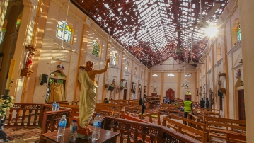 The Islamic State had claimed responsibility for a series of devastating suicide attacks that had killed 359 people in Sri Lanka.