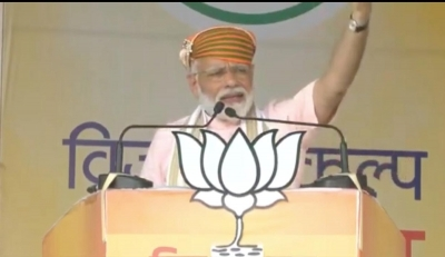 Congress deceived Indians for over 7 decades, says PM Modi