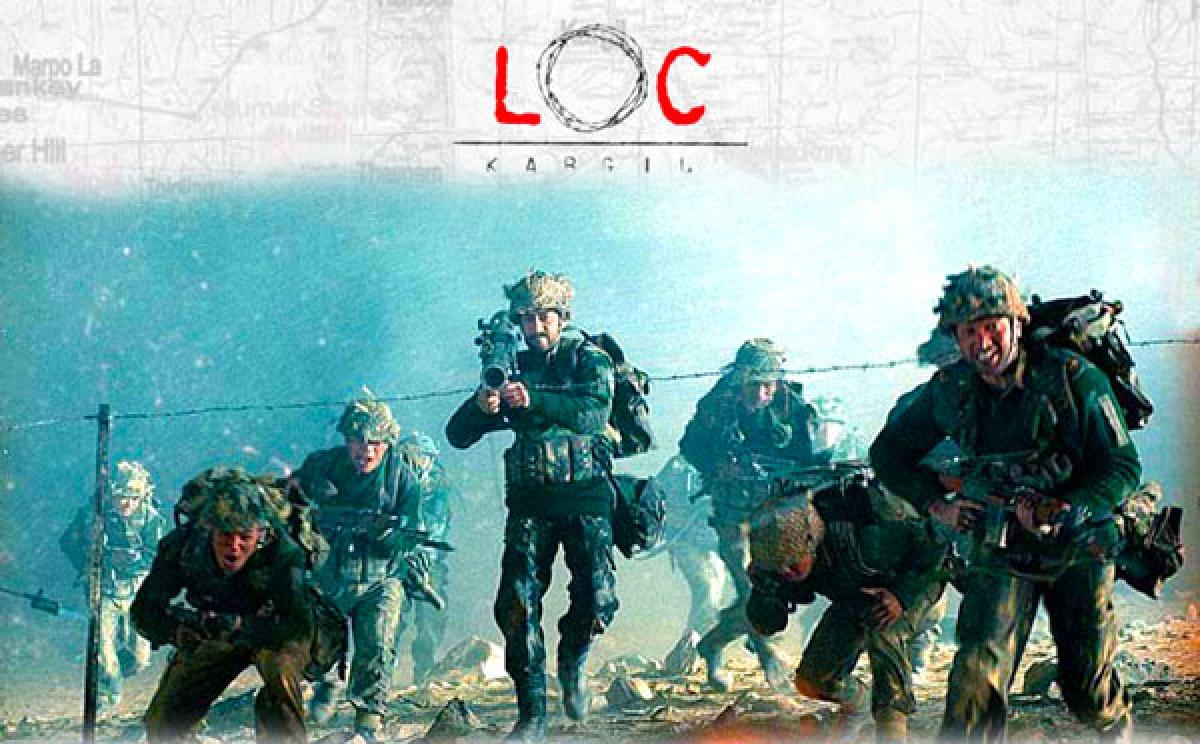 The poster of <i>LOC Kargil</i>.
