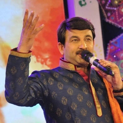 Manoj Tiwari assails Kejriwal for not campaigning