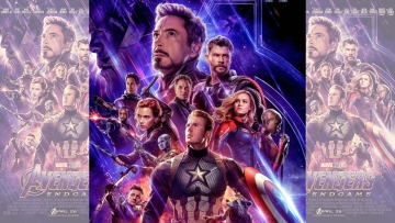A poster for <i>Avengers: Endgame</i>.