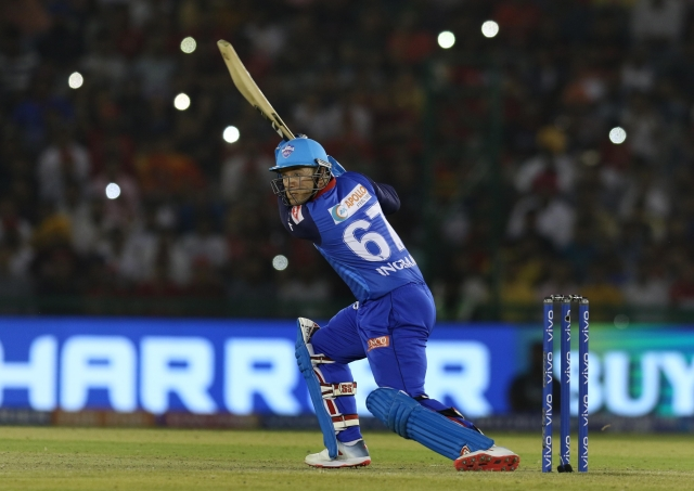 Delhi Capitals' biggest buy at this season's auction was South African top-order batsman Colin Ingram.