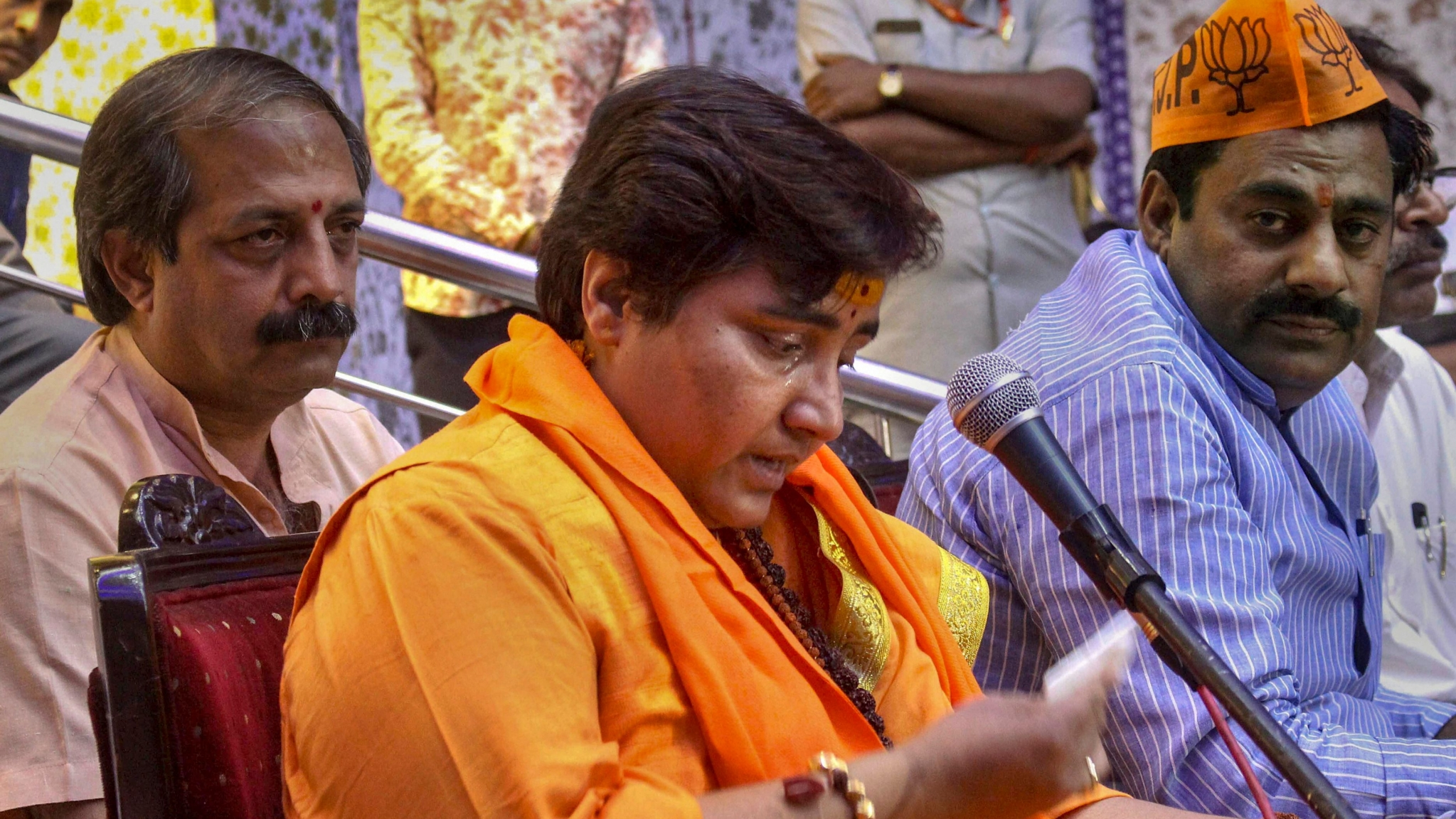 Malegaon Victim's Father, Activist Seek Poll Ban on Sadhvi Pragya