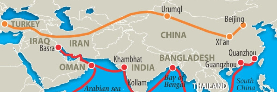 BRI Forum: China Displays Map With J&K, Arunachal as Part of India on