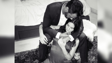 Arjun Rampal and partner Gabriella Demetriades are soon to be parents.