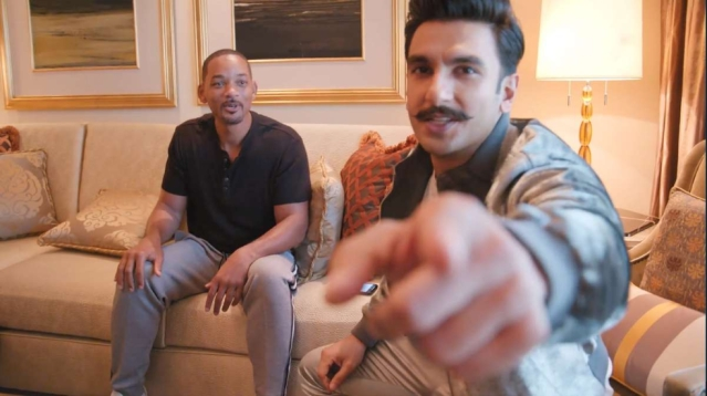 Ranveer Singh and Will Smith talk about all things Bollywood.