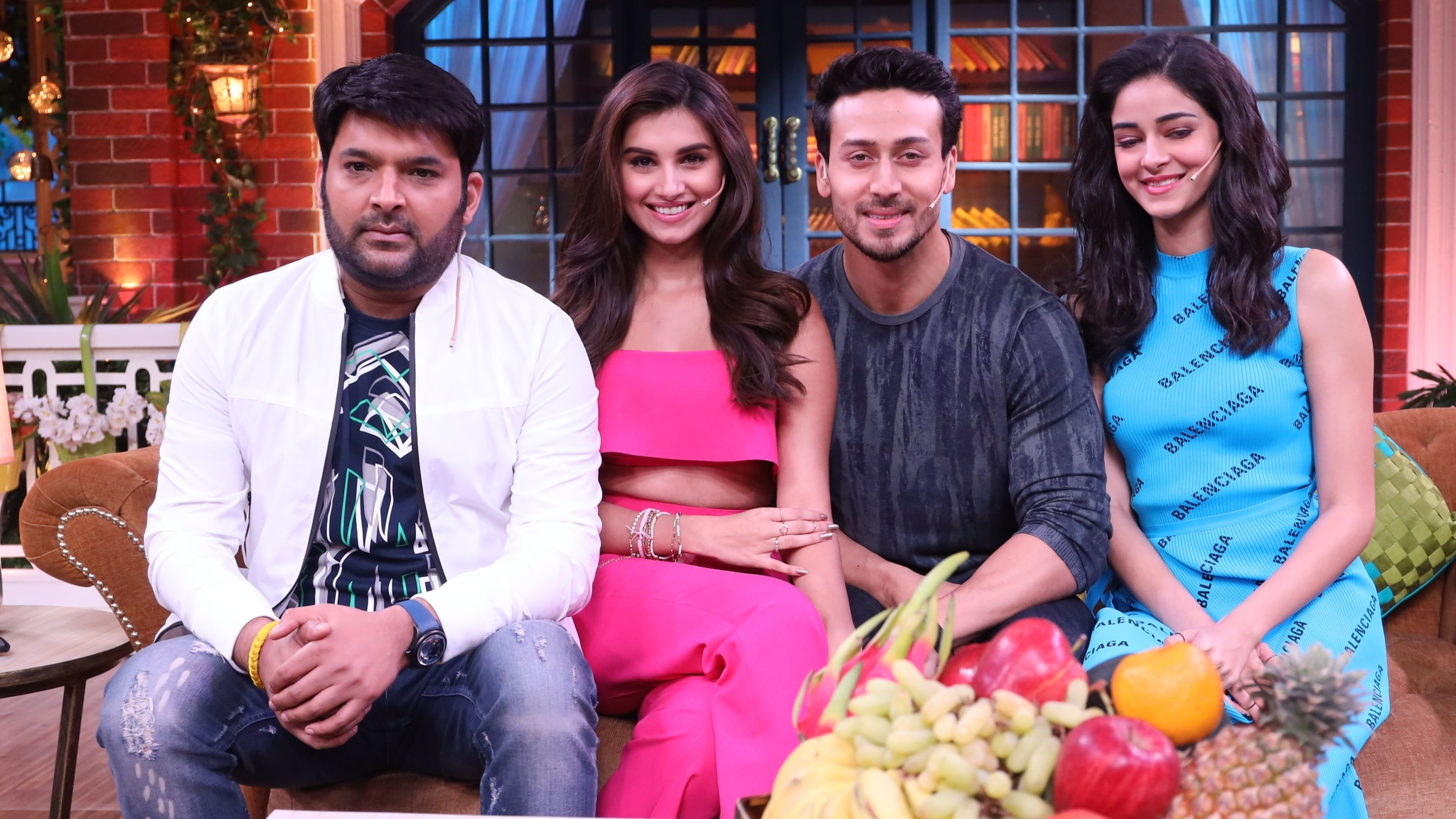 Pics: Tiger, Ananya & Tara Raise the Roof on The Kapil Sharma Show