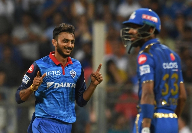 Axar Patel has picked up four wickets in seven games of the 2019 Indian Premier League.