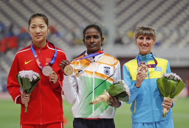 There is no doubt that Gomathi was the star of the 17-medal winning Indian squad in Doha.