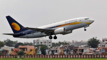 Air India Express, the international budget arm of Air India, is examining the possibility of leasing some Boeing 737 aircraft of grounded carrier Jet Airways.