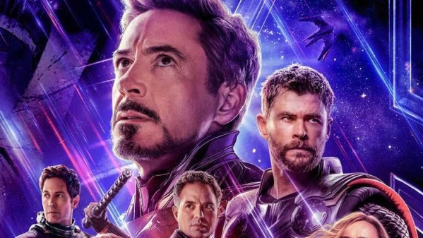 The poster of <i>Avengers: Endgame</i>.