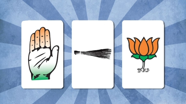 Delhi is set for a triangular contest between BJP, the AAP and Congress. Who is contesting in which constituency?