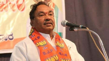 Senior BJP leader KS Eshwarappa.