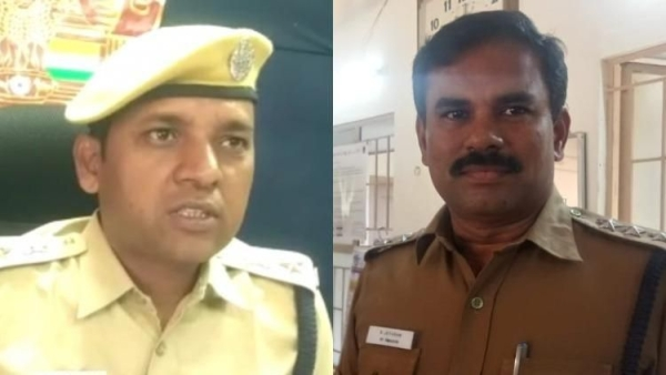 The three police officials, who were initially investigating the Pollachi assault case in Tamil Nadu have been transferred.