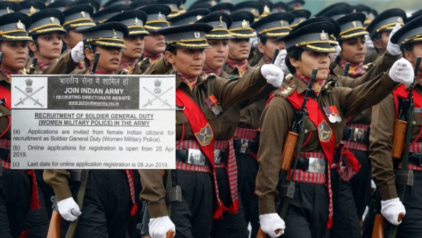 The decision to induct women in Military Police  Corps was taken by Defence Minister Nirmala Sitharaman on 18 January.
