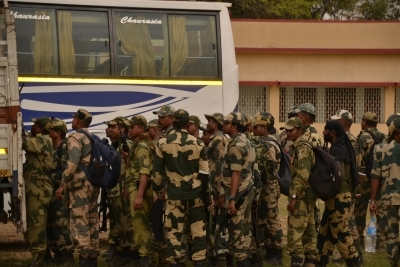 552 central paramilitary companies in Bengal's 4th phase