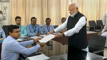 Prime Minister Narendra Modi has filed his nomination from the Varanasi seat for the Lok Sabha elections.