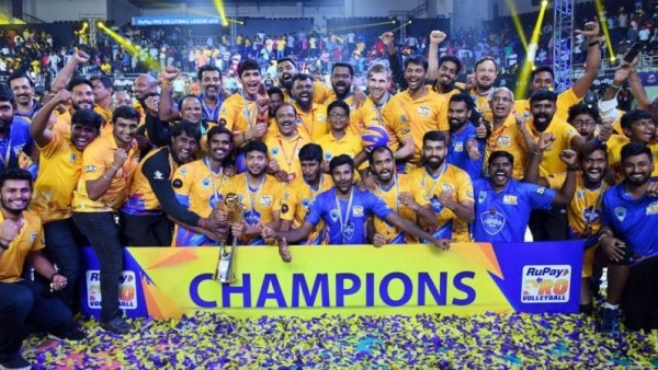 Chennai Spartans are the defending champions of the tournament.