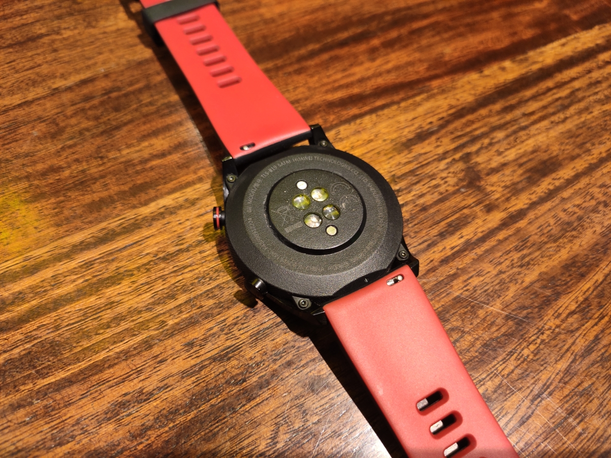 The Honor Watch Magic sports a metal body.